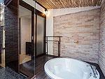サムイ島 プライベートビーチありのホテル : サリカンタン リゾート & スパ(Sarikantang Resort & Spa)のデラックス ウィズ バスルームの設備 Bath Room
