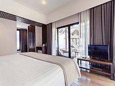 サムイ島 プライベートビーチありのホテル : サリカンタン リゾート & スパ(1)のお部屋「デラックス ウィズ バス」