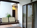 サムイ島 プライベートビーチありのホテル : サリカンタン リゾート & スパ(Sarikantang Resort & Spa)のデラックス ラナイルームの設備 Room View