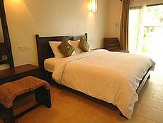 サムイ島 プライベートビーチありのホテル : サリカンタン リゾート & スパ(1)のお部屋「デラックス ラナイ」