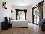 サムイ島 プライベートビーチありのホテル : サリカンタン リゾート & スパ(Sarikantang Resort & Spa)のワンベッドルーム ヴィラルームの設備 Room View