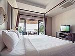 サムイ島 プライベートビーチありのホテル : サリカンタン リゾート & スパ(Sarikantang Resort & Spa)のビーチフロント スイートルームの設備 Bedroom