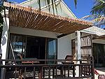 サムイ島 プライベートビーチありのホテル : サリカンタン リゾート & スパ(Sarikantang Resort & Spa)のビーチフロント スイートルームの設備 Exterior