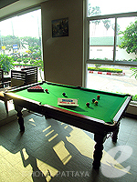 Mini Pool Table : Sarita Chalet & Spa, Ocean View Room, Phuket