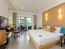 プーケット インターネット接続(無料)のホテル : サワディー パトン リゾート(1)のお部屋「スーペリア」