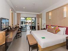 プーケット インターネット接続(無料)のホテル : サワディー パトン リゾート(1)のお部屋「デラックス」
