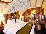 プーケット カタビーチのホテル : サワディー ヴィレッジ(Sawasdee Village)のガーデンデラックスルーム(シングル)ルームの設備 Bedroom