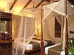 プーケット 5,000~10,000円のホテル : サワディー ヴィレッジ(Sawasdee Village)のガーデンデラックスルーム(シングル)ルームの設備 Bedroom