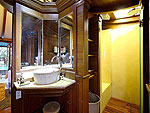 プーケット カタビーチのホテル : サワディー ヴィレッジ(Sawasdee Village)のガーデンデラックスルーム(シングル)ルームの設備 Bath Room