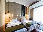 プーケット カタビーチのホテル : サワディー ヴィレッジ(Sawasdee Village)のガーデン デラックス ツインルームの設備 Bedroom