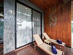 プーケット カタビーチのホテル : サワディー ヴィレッジ(Sawasdee Village)のガーデン デラックス ツインルームの設備 Terrace
