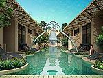 プーケット カタビーチのホテル : サワディー ヴィレッジ(Sawasdee Village)のガーデン デラックス ツインルームの設備 Direct Pool Access