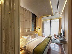 プーケット カタビーチのホテル : サワディー ヴィレッジ(1)のお部屋「ガーデン デラックス ツイン」