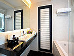 プーケット パトンビーチのホテル : シー サン サンド リゾート & スパ(Sea Sun Sand Resort & Spa)のデラックス(ツイン/ダブル)ルームの設備 Bath Room