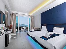 プーケット パトンビーチのホテル : シー サン サンド リゾート & スパ(1)のお部屋「デラックス シービュー(ツイン/ダブル)」