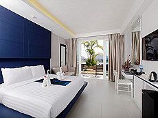 プーケット パトンビーチのホテル : シー サン サンド リゾート & スパ(1)のお部屋「デラックス プールサイド(ツイン/ダブル)」