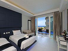 プーケット パトンビーチのホテル : シー サン サンド リゾート & スパ(1)のお部屋「デラックス プール   アクセス(ツイン/ダブル)」