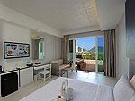 プーケット パトンビーチのホテル : シー サン サンド リゾート & スパ(Sea Sun Sand Resort & Spa)のデラックスシービュージャグジー(シングル)ルームの設備 Room view
