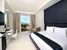 プーケット パトンビーチのホテル : シー サン サンド リゾート & スパ(1)のお部屋「デラックスシービュージャグジー(シングル)」