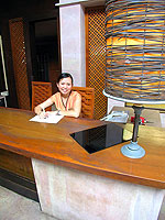 Reception / Seaview Patong Hotel, หาดป่าตอง