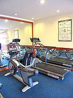 Fitness Gym : Seaview Patong Hotel, Fitness Room, Phuket