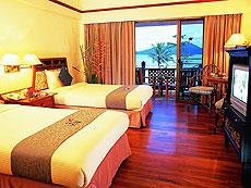 プーケット パトンビーチのホテル : シービュー パトン ホテル(1)のお部屋「スーペリア(ツイン/ダブル)」