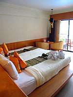 プーケット 5,000~10,000円のホテル : シービュー パトン ホテル(Seaview Patong Hotel)の デラックス(シングル)ルームの設備 Bedroom