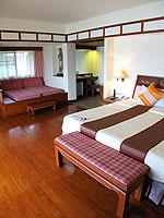 プーケット 5,000~10,000円のホテル : シービュー パトン ホテル(Seaview Patong Hotel)のジュニア スイートルームの設備 Room Interior