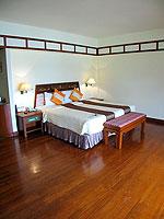 プーケット パトンビーチのホテル : シービュー パトン ホテル(Seaview Patong Hotel)のジュニア スイートルームの設備 Bedroom