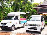 Shuttle bus service / Secret Cliff Resort & Restaurant, มองเห็นวิวทะเล