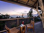 プーケット 5,000~10,000円のホテル : シークレット クリフ リゾート(Secret Cliff Resort & Restaurant)のデラックス サンセット ヴィラルームの設備 Balcony