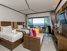 プーケット 5,000~10,000円のホテル : シークレット クリフ リゾート(1)のお部屋「デラックス サンセット ヴィラ」