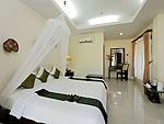 プーケット 5,000~10,000円のホテル : シークレット クリフ リゾート(Secret Cliff Resort & Restaurant)のスーペリア ガーデンビュールームの設備 Bedroom