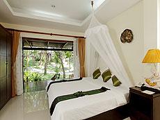 プーケット 5,000~10,000円のホテル : シークレット クリフ リゾート(1)のお部屋「スーペリア ガーデンビュー」