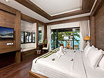 プーケット カロンビーチのホテル : シークレット クリフ リゾート(Secret Cliff Resort & Restaurant)のファミリー デラックス オーシャンビュールームの設備 Bedroom