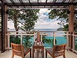 プーケット 5,000~10,000円のホテル : シークレット クリフ リゾート(Secret Cliff Resort & Restaurant)のファミリー デラックス オーシャンビュールームの設備 Balcony