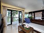 プーケット 5,000~10,000円のホテル : シークレット クリフ リゾート(Secret Cliff Resort & Restaurant)のジュニア スイート オーシャンビュールームの設備 Living Area