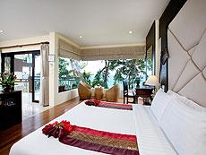 プーケット 5,000~10,000円のホテル : シークレット クリフ リゾート(1)のお部屋「ジュニア スイート オーシャンビュー」