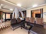 プーケット 5,000~10,000円のホテル : シークレット クリフ リゾート(Secret Cliff Resort & Restaurant)のスーペリア ガーデン ビュールームの設備 Living Room