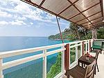プーケット 5,000~10,000円のホテル : シークレット クリフ リゾート(Secret Cliff Resort & Restaurant)のスーペリア ガーデン ビュールームの設備 Balcony
