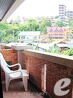 プーケット 5,000円以下のホテル : シーカ ブティック リゾート(Seeka Boutique Resort)のスーペリア(ダブル)ルームの設備 Balcony