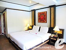 プーケット 5,000円以下のホテル : シーカ ブティック リゾート(1)のお部屋「スーペリア(ダブル)」