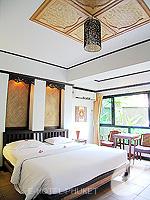 プーケット 5,000円以下のホテル : シーカ ブティック リゾート(Seeka Boutique Resort)のデラックス(ダブル/ツイン)ルームの設備 Bedroom