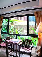 プーケット 5,000円以下のホテル : シーカ ブティック リゾート(Seeka Boutique Resort)のデラックス(ダブル/ツイン)ルームの設備 Relax Area