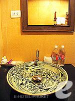 プーケット 5,000円以下のホテル : シーカ ブティック リゾート(Seeka Boutique Resort)のデラックス(ダブル/ツイン)ルームの設備 Bath Room