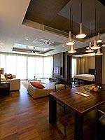 サムイ島 2ベッドルームのホテル : シャサ リゾート & レジデンス コ サムイ(ShaSa Resort & Residences Koh Samui)のシービュースイート(2ベッドルーム)ルームの設備 Living Area