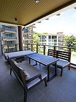 サムイ島 2ベッドルームのホテル : シャサ リゾート & レジデンス コ サムイ(ShaSa Resort & Residences Koh Samui)のシービュースイート(2ベッドルーム)ルームの設備 Balcony