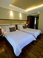 サムイ島 2ベッドルームのホテル : シャサ リゾート & レジデンス コ サムイ(ShaSa Resort & Residences Koh Samui)のシービュースイート(3ベッドルーム)ルームの設備 Bedroom