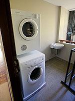 サムイ島 2ベッドルームのホテル : シャサ リゾート & レジデンス コ サムイ(ShaSa Resort & Residences Koh Samui)のシービュースイート(3ベッドルーム)ルームの設備 Washing Machine