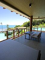 サムイ島 2ベッドルームのホテル : シャサ リゾート & レジデンス コ サムイ(ShaSa Resort & Residences Koh Samui)のシービュースイート(3ベッドルーム)ルームの設備 Balcony